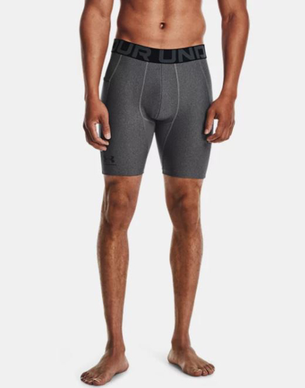 Picture of UNDER ARMOUR m hlače 1361596-090 HEATGEAR COMPRESSION SHORTS