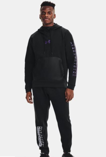 Picture of UNDER ARMOUR m kapucar 1360730-002 SUMMIT KNIT HOODIE