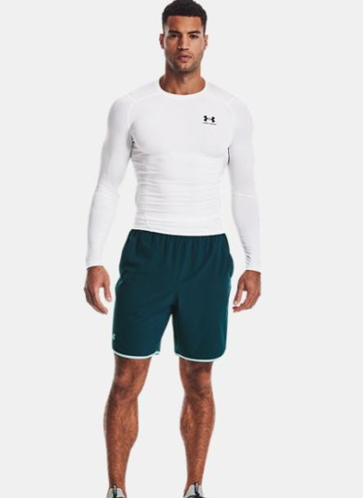Picture of UNDER ARMOUR m majica 1361524-100 HEATGEAR LONG SLEEVE