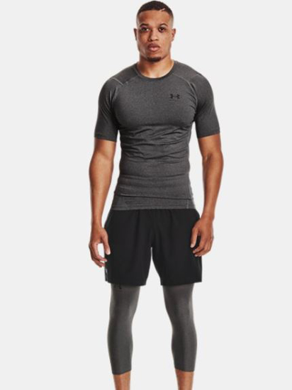 Picture of UNDER ARMOUR m majica 1361518-090 HEATGEAR SHORT SLEEVE