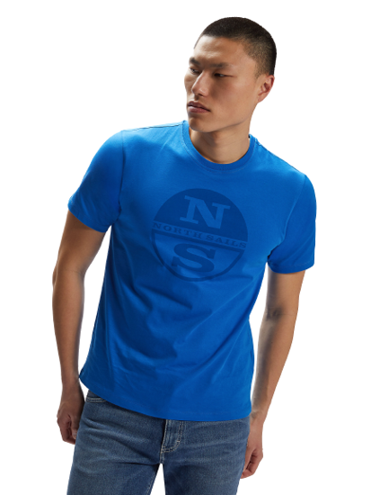 Picture of NORTH SAILS m majica 692689 0760 GRAPHIC T-SHIRT