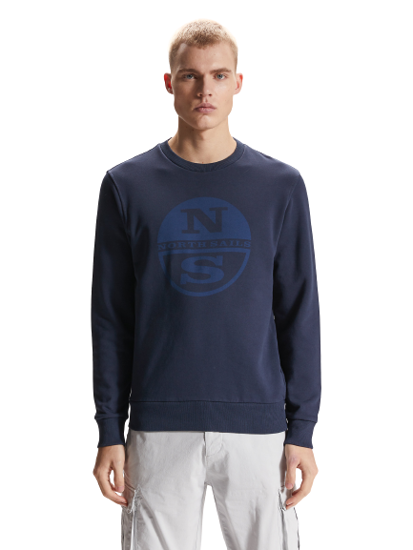 Picture of NORTH SAILS m pulover 691573 0802 ROUND NECK