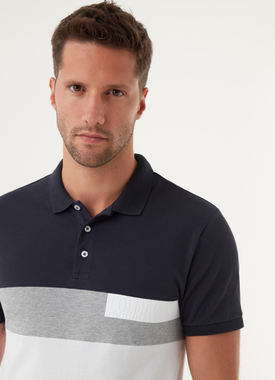 Picture of COLMAR m polo majica 76803UP 68 navy