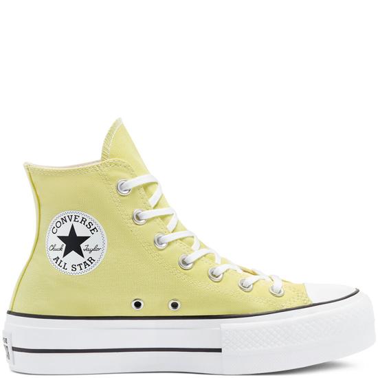Picture of ALL STAR odr čevlji COLOR PLATFORM 570433C lt zitron
