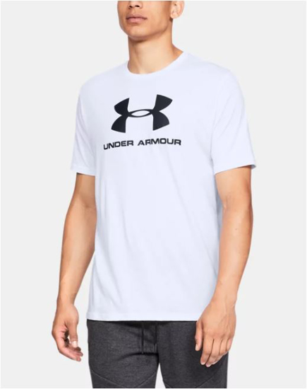 Picture of UNDER ARMOUR m majica 1329590-100 SPORTSTYLE LOGO