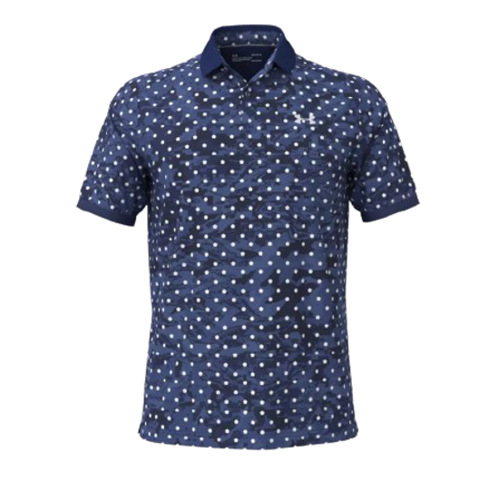 Picture of UNDER ARMOUR m golf majica 1361806-415 ISO-CHILL PENTA DOT POLO