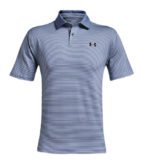 Picture of UNDER ARMOUR m golf majica 1361823-470 UA PERFORMANCE STRIPE POLO