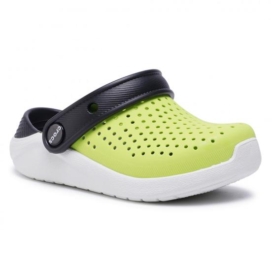 CROCS LiteRide™ Clog K 205964 Lime Punch / Black