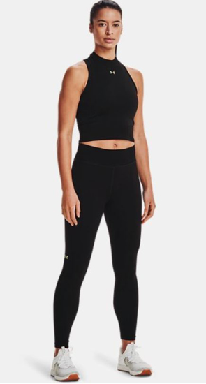 Picture of UNDER ARMOUR ž trening top/majica 1360822-001 UA RUSH SEAMLESS