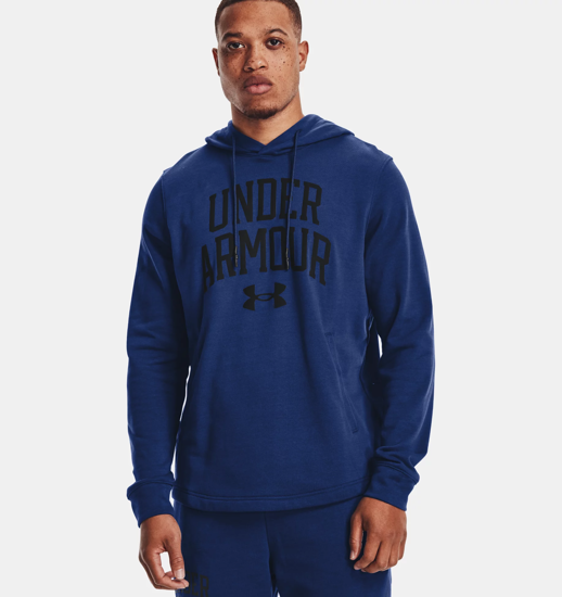 Picture of UNDER ARMOUR m kapucar 1361462-415 RIVAL TERRY COLLEGIATE